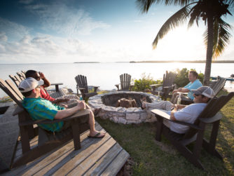 Firepit - Abaco Lodge