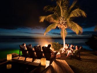 Firepit - Abaco Lodge, Abaco Island, Bahamas