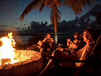 Firepit, Abaco Lodge