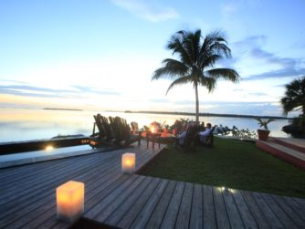 Sunset at Abaco Lodge